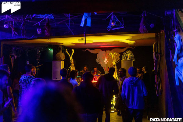 Hadra x EDC - Voodoo People @ Warehouse, Nantes (44) Crédit photo: PatAndPatate
