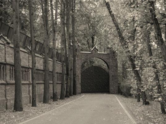 Ворота усадьбы Зубалово