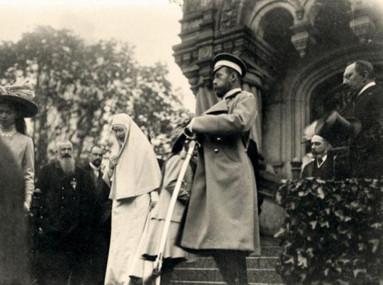 Великая княгиня Елизавета Феодоровна, Николай II