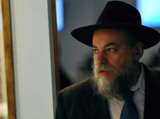 Президент Федерации еврейских общин России раввин А. М. Борода