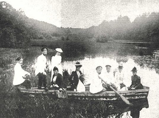 Царская семья в Усово