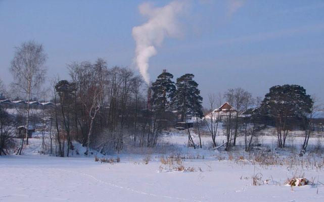 Зима в Назарьево