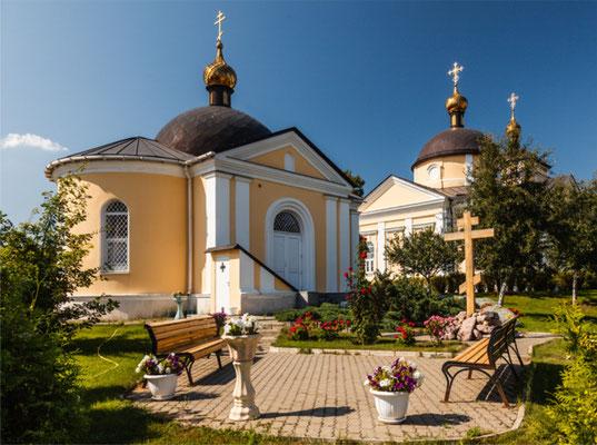 Знаменская церковь.  Одинцовский район, Знаменское село