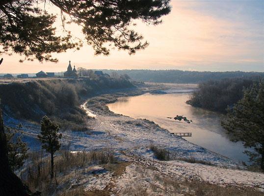 Зима, Подмосковье, Козино.