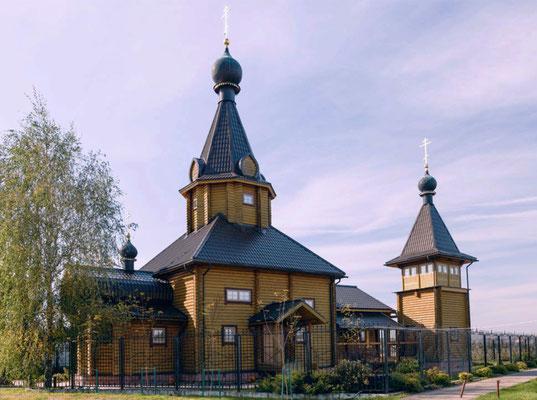 Церковь Троицы Живоначальной в Козино.