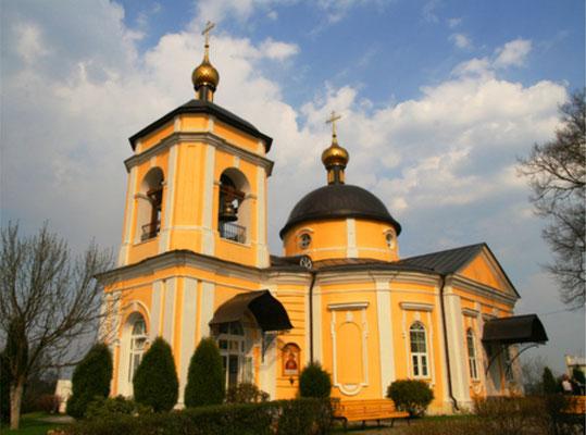 Знаменское церковь