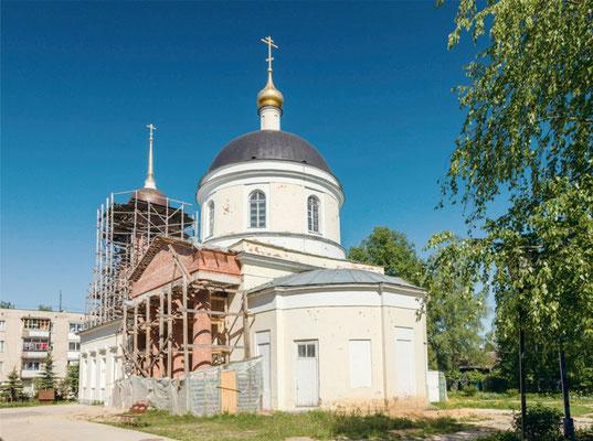 Реставрация храма Святой Троицы и колокольни храма п. Назарьево