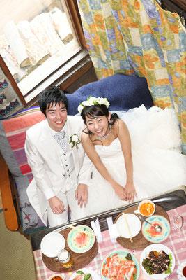 純白の結婚式