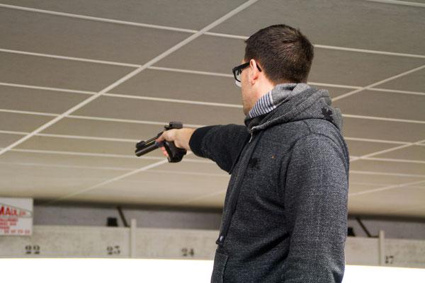 Pistolier en compétition