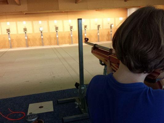 Initiation au tir pour les enfants