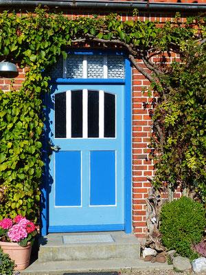 Die Tür zu unserem Gästehaus