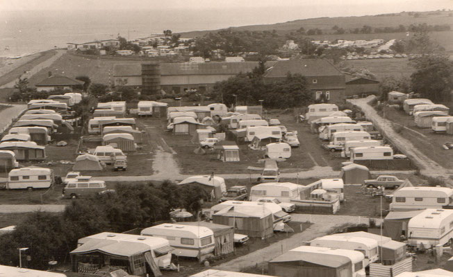 Blick vom Leuchtturm 1981