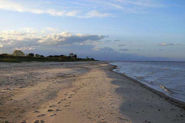 Der FKK-Strand bei Golsmaas