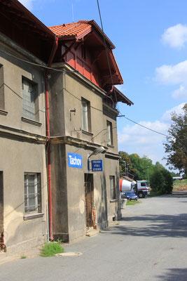 Bahnhof in Tschechien