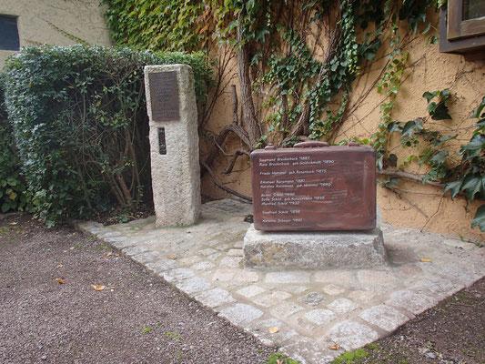 Gedenken an die jüdischen Mitbürger in Willmars