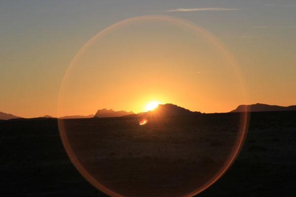 Sonnenuntergang 3. StandplatzTalsinntrunde