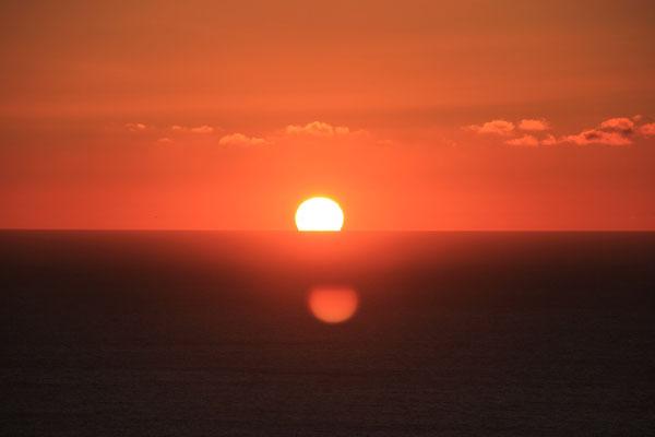 Sonnenuntergang terre de ocean