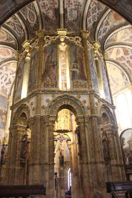 Kirche in der Templerburg, Tomar