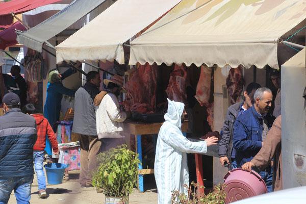 nochmals marokanisches Leben, Weg nach TangerMed