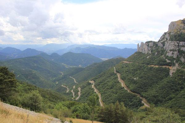 Abfahrt vom Col de Rouset, 1165 m