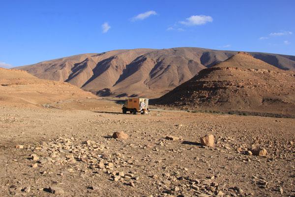 Standplatz Nähe Tamatouchte, 1700 m
