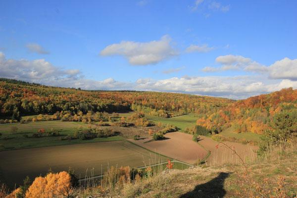 Herbstwanderung bei Ostheim