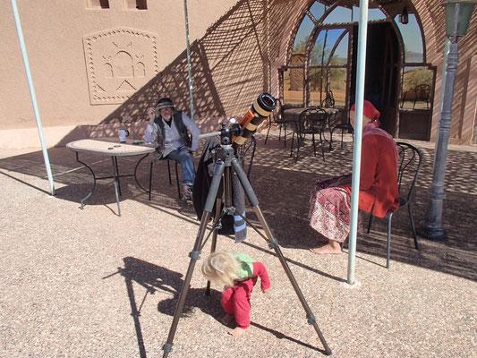 Patrick, Astronom, Sonnenteleskop, SaharaSky