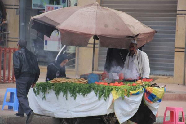 Essenstand, Souk Meknes