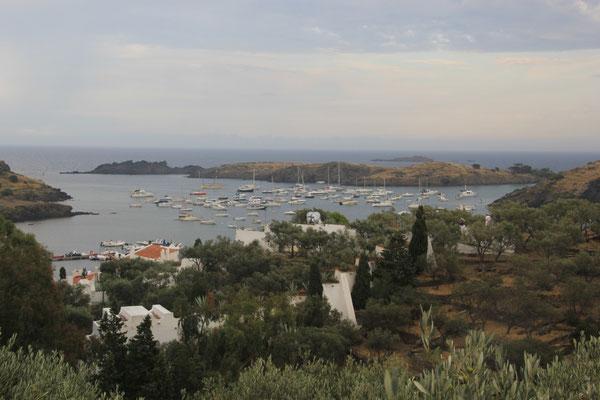 Poro Lligat mit Anwesen von Salvadore Dali