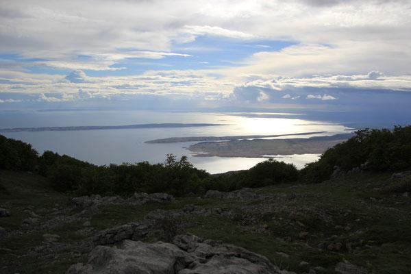 Aussicht vom Alan-Pass(1406 m)