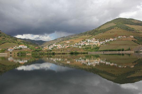 Sicht am Brotzeitplatz, Douro