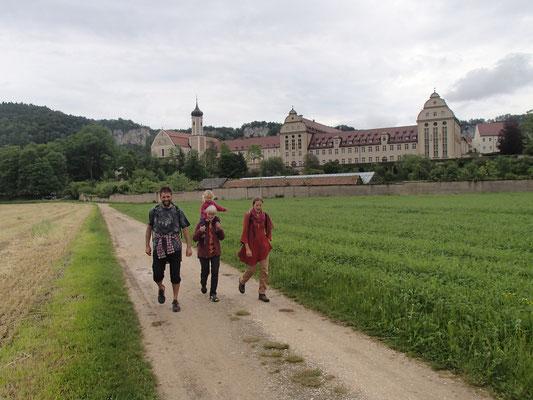 Spaziergang beim Kloster Beuron