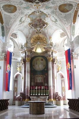 Altarraum, Klosterkirche Beuron