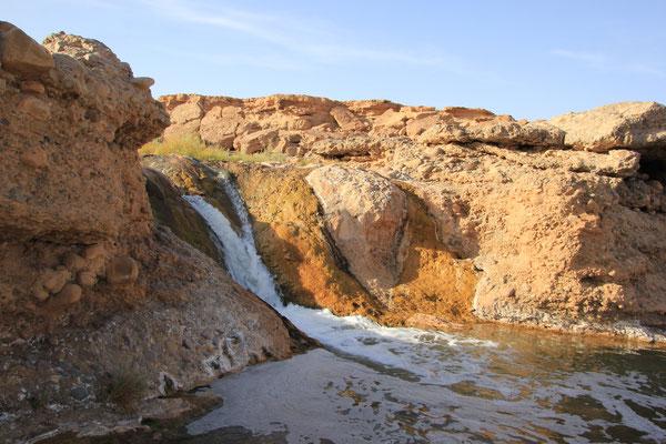 Wasserfall am Stpl.Nähe Tissint
