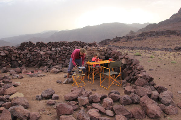 Abendessen Tizn Tazaret 2200m