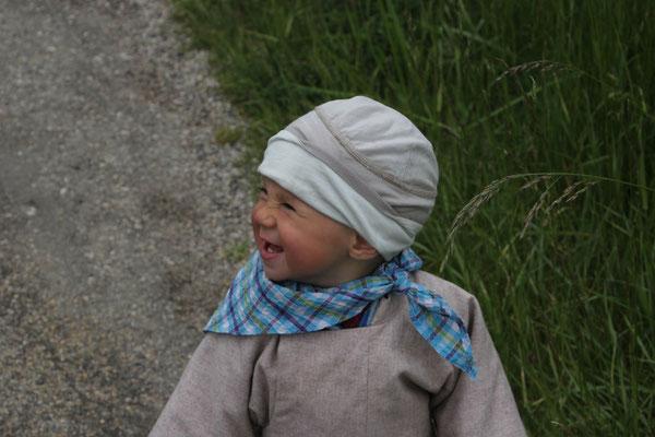 Sarah beim Spaziergang,Langres