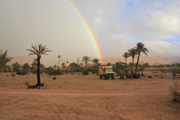 Regenbogen Tafraoute