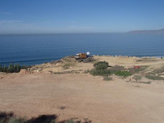 Standplatz Camping Terre de ocean