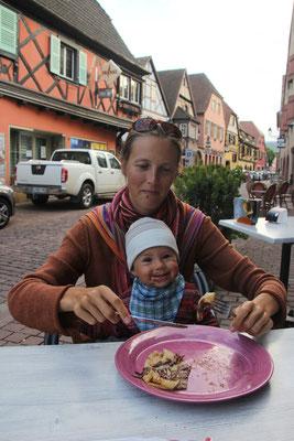 Abschiedscrepes, Turckheim