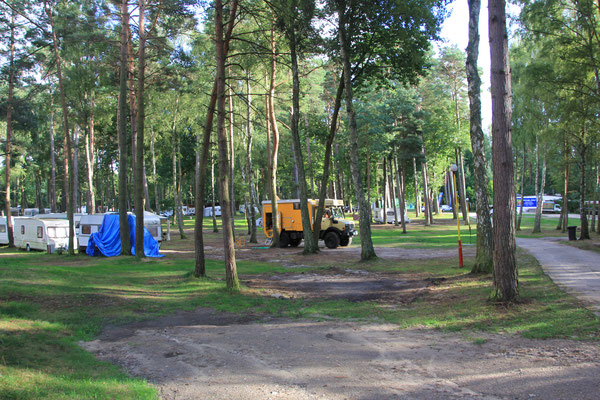 Camping Tramp Insel Wolin