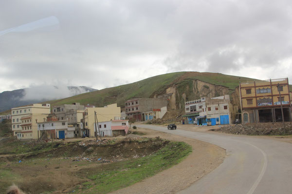 Dorf im Riffgebirge