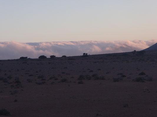 wolkige Berge 1. Stpl. Piste Richt. Assa
