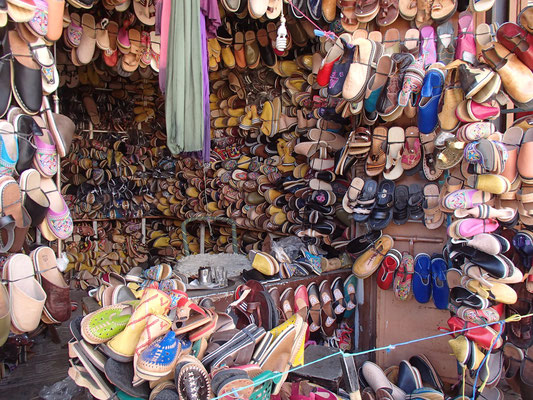 Schuhladen, Tafraoute