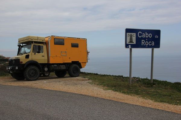 Cabo Roca, westlichster Punkt, europäisches Festland