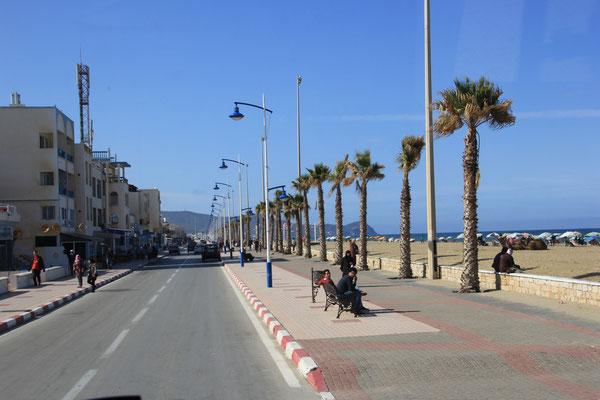 Martil, Strandpromenade