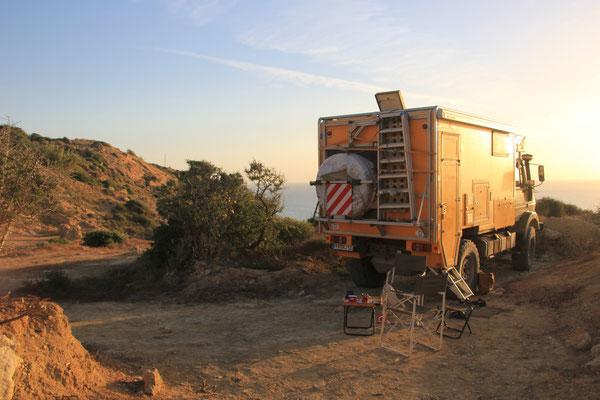 Standplatz, Camping terre de ocean, Nähe Thagazoute