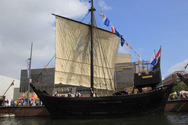 altes Handelsschiff