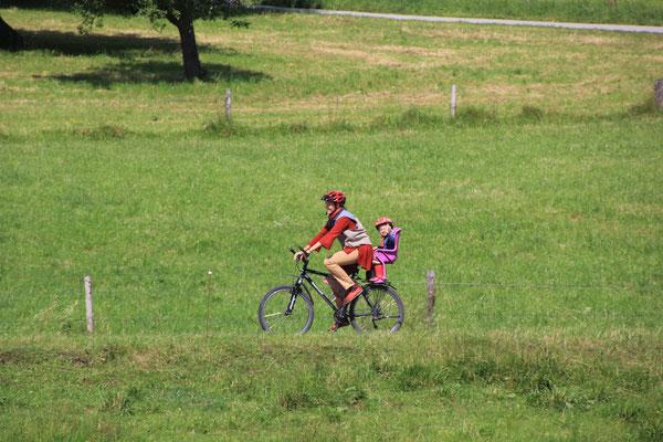 Stephanie Sarah Fahrradtour