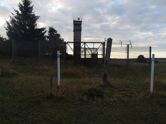 Grenzanlage Nähe Schwarzes Moor