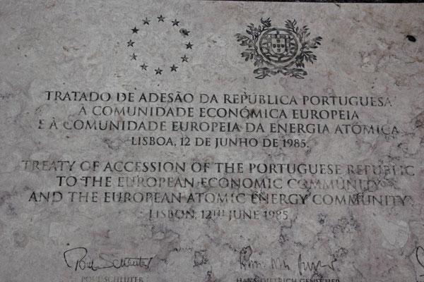 Beitritt Portugal zur EU und Atomgemeinschaft,Lisabon